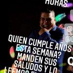Image for the Tweet beginning: Este sábado 25 especial cumpleaños