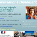 Image for the Tweet beginning: Conversations diplomatiques : #neconfinezpasvosambitions  Des