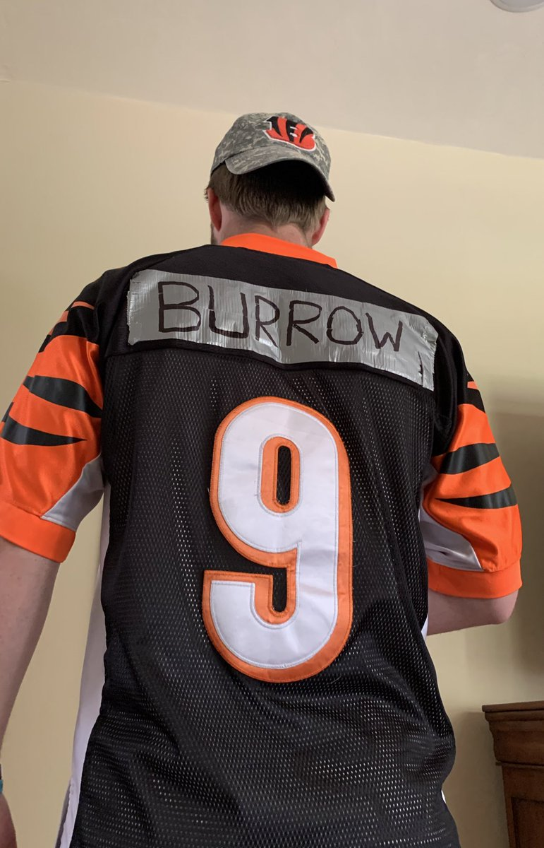 I credit/blame (?) @ochocinco for having a Bengals fan in the fam.