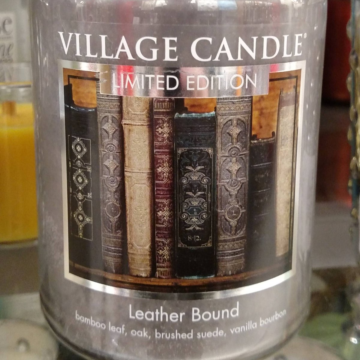 #TBT to finding this librarian candle. Ron Burgundy would be jealous.