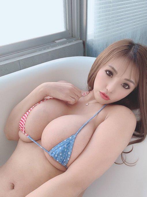 AV女優さくら悠のTwitter自撮りエロ画像27