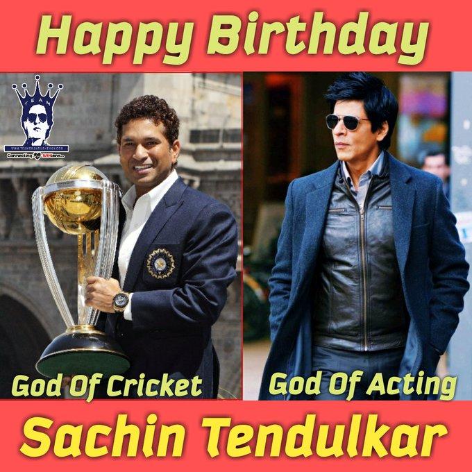 Here\s Wishing Sachin Tendulkar a very Happy Birthday
