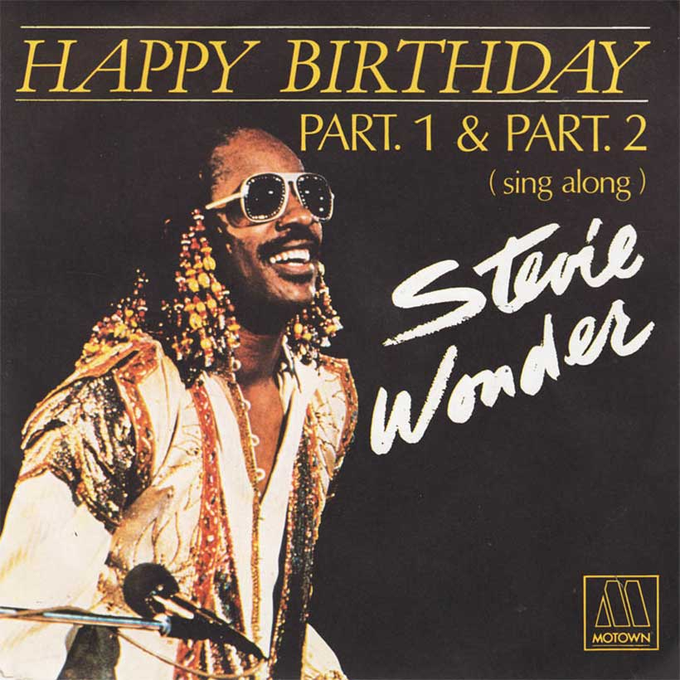 Happy 70th Birthday Stevie Wonder!