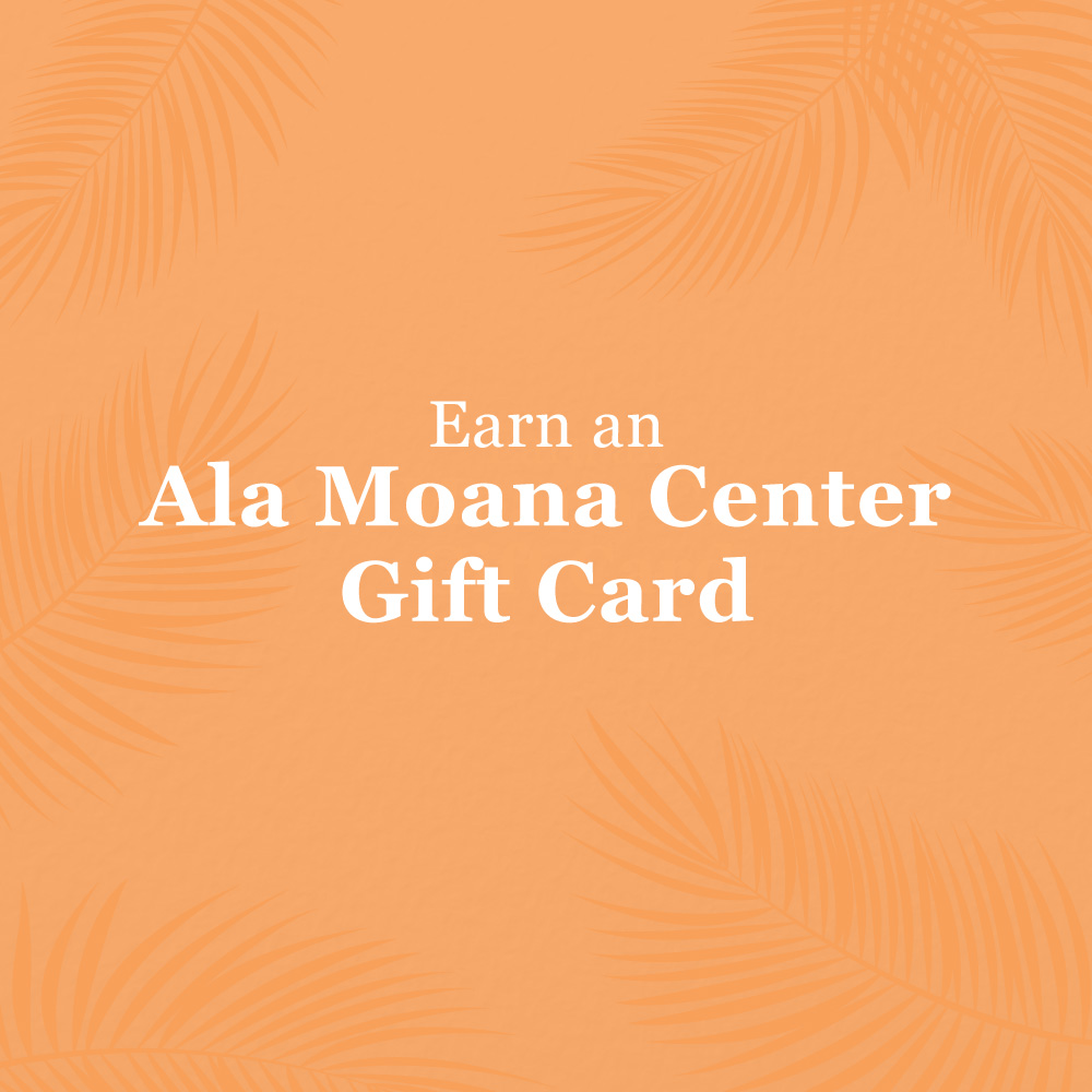 Earn a $25 or $50 Ala Moana Center Gift Card when you support Ala Moana Center's essential stores* and restaurants. Spend $50 for a $25 gift card and $100 for a $50 gift card. Visit https://t.co/bOy91HraME for complete details and a list of qualifying stores and restaurants. https://t.co/mCUvXyAIet