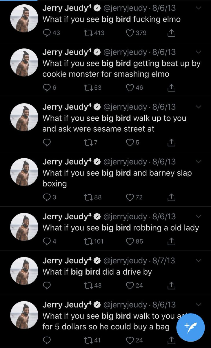 Jerry Jeudy should have went first overall https://t.co/qxb7QLIR0r