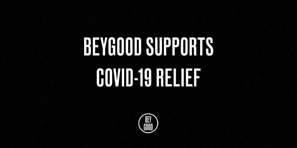 .@BeyGOOD partners with @Jack Dorsey's #startsmall to support COVID-19 relief