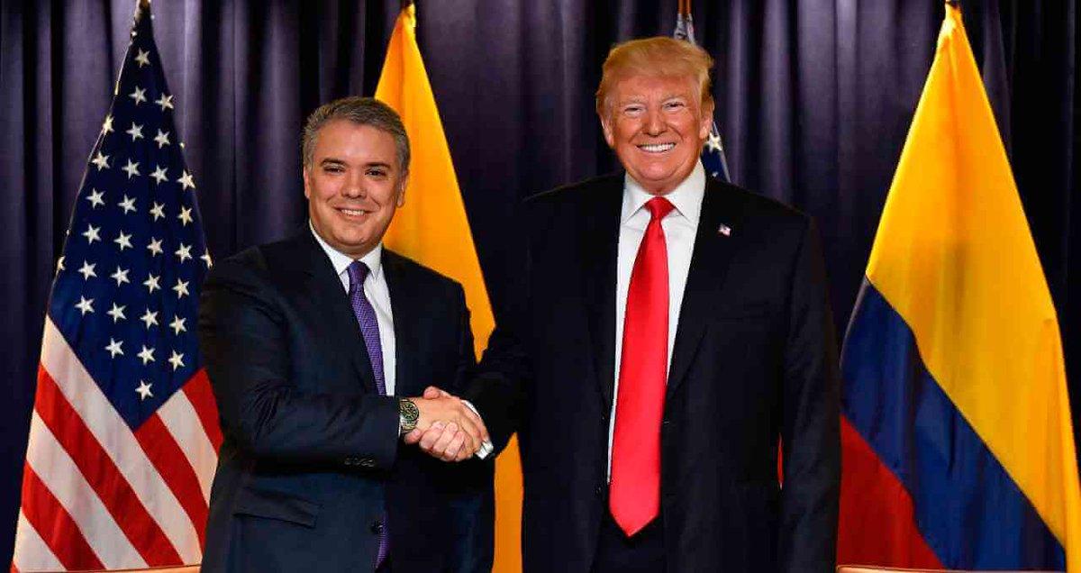 Colmbia Donald Trump