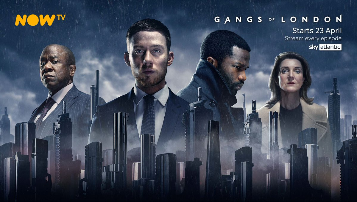 Delve into London's modern-day criminal underworld – all 9 episodes of brand new series Gangs of London are now available to stream with a NOW TV Entertainment Pass.  Find out more about the Entertainment Pass, and how to get one 👇    #GangsOfLondon