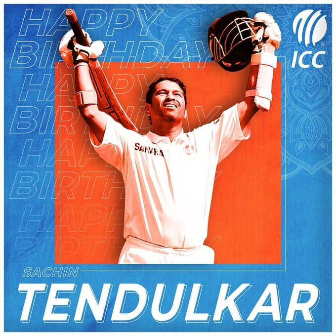 Happy birthday to Sachin Tendulkar, the most prolific batsman of all time.