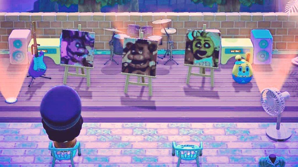 Animal Crossing x FNAF By: me ~ #ACNH #ACNHDesign #AnimalCrossingNewHorizons #FNAF