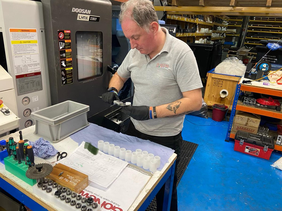 """Our """"can do"""" approach to #engineering, combined with our workshop capacity, ensures we always produce #polymer #components that meets and often exceeds our customers requirements.    https://t.co/rlYOEgEujb  #ManufacturingUK #UKMfg #PitstopChallenge @policeuk https://t.co/rl9haFjPok"""