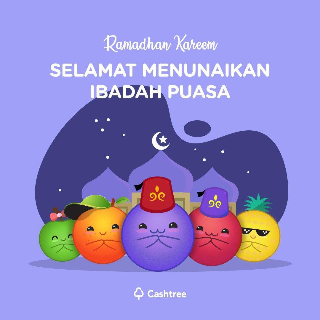 Hai Cashtrians, 😘  Marhaban ya Ramadhan ❤️  Cherry Berry And The Gank mengucapkan selamat menunaikan ibadah puasa untuk Cashtrians yang menjalankannya. 😍🙏🏻  Berkah Ramadhan untuk kita semua. 😇😊 Semoga lancar sampai Hari Kemenangan tiba. 🤲🏻 Tetap jaga kesehatan juga ya 💪🏻😉 https://t.co/6nYa0ipysd
