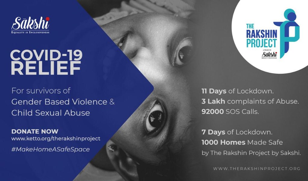 Many women and children are falling prey to domestic violence and abuse during this #lockdown. We urge you donate any sum of money towards the welfare and support of the ones who are suffering the consequences during these times.   #makehomeasafeplace