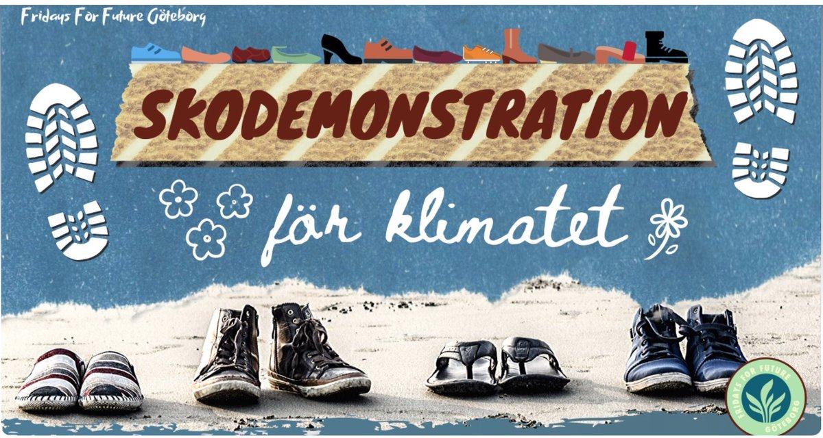 Kom igen! Låt oss fylla Gustav Adolfs Torg i Göteborg med våra skor för visa att klimatkrisen fortfarande är lika akut. #klimat #klimatkris #svpol #gbgftw facebook.com/events/2091321…