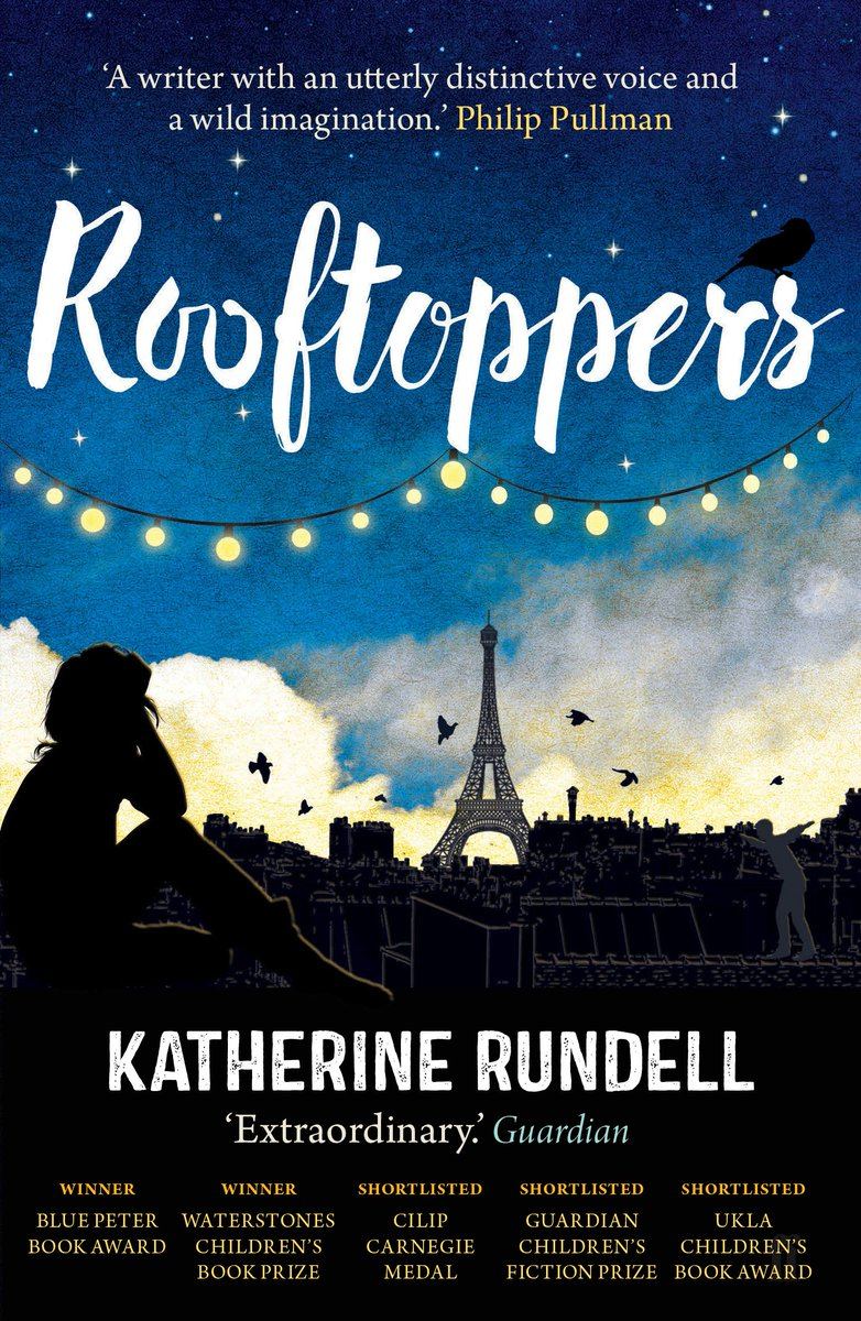 """""""It's the things you read at the age you are now (12) which stick. Books crow-bar the world open for you.""""  Charlie to Sophie in Rooftoppers by #KatherineRundell. It is easily one of the most beautiful books I've ever read.   @PhilipPullman @emmac2603 @MaryAliceEvans #Rooftoppers pic.twitter.com/TRCwJOiFQA"""