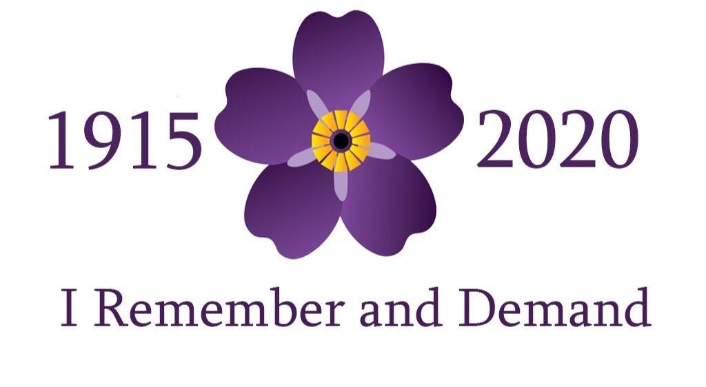 #ArmenianGenocide