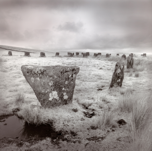 Morning everyone.... heres one of my favourite ancient sites. Peter Greenhalfs infrared, hand toned photo of Dartmoor.. so mysterious... calling us in... posing lots of questions #infrared #silvergelatin #Dartmoor #ancientsites
