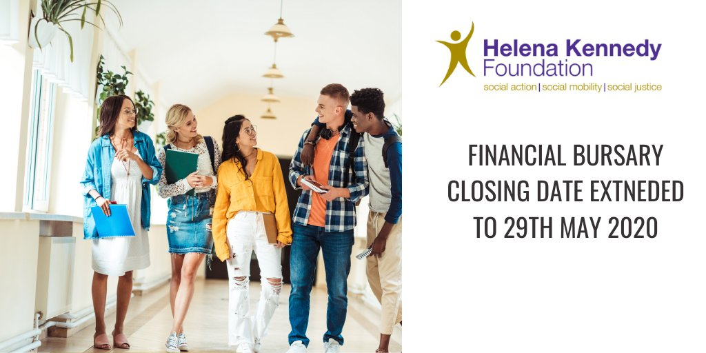Hkf On Twitter Closing Date For 2020 Financial Bursaries Extended To 29th May 2020 To Apply And More Info Please Visit Https T Co Dtacrwif47 Https T Co Hto7jma3f9