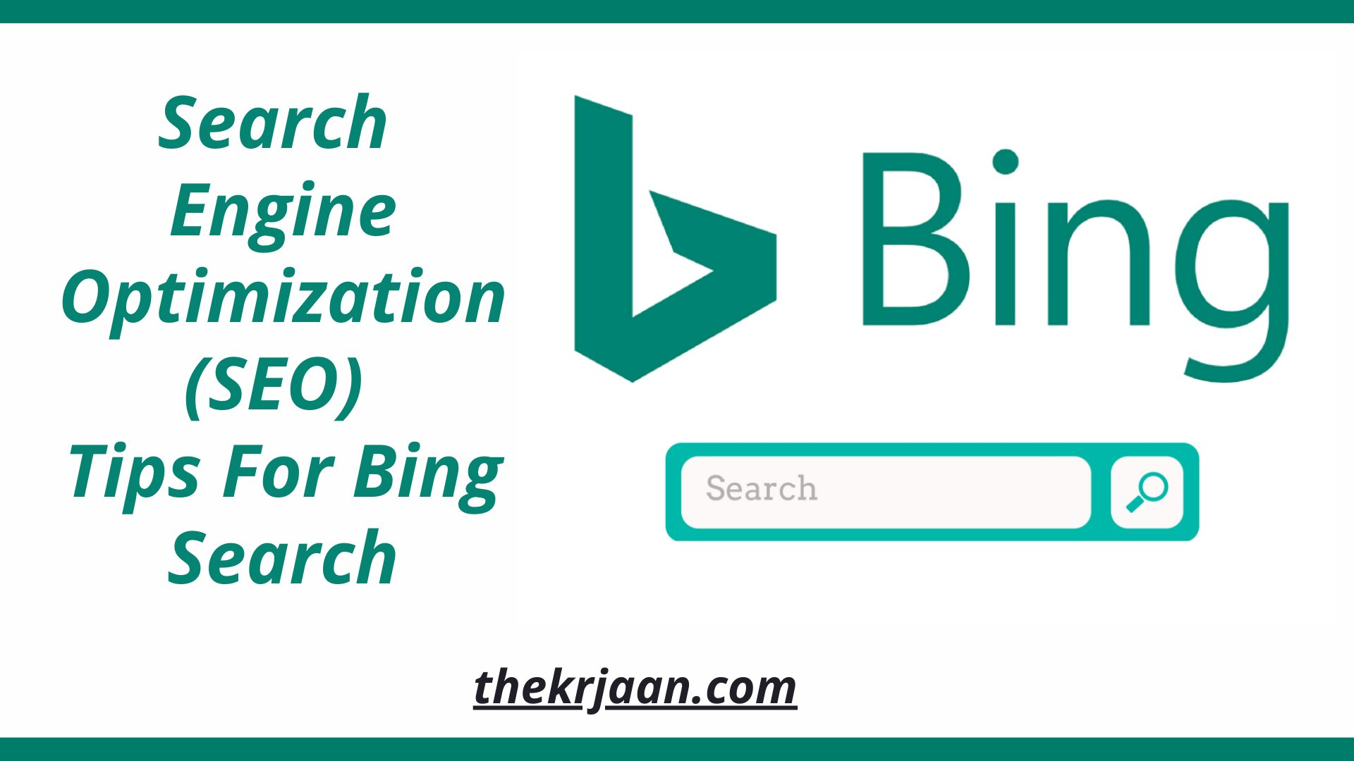Search Engine Optimization (SEO) Tips For Bing Search