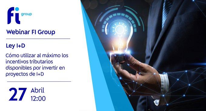 En FI Group Chile, queremos invitarte al Webinar que realizaremos el 27 de abril a las 12h.En es....