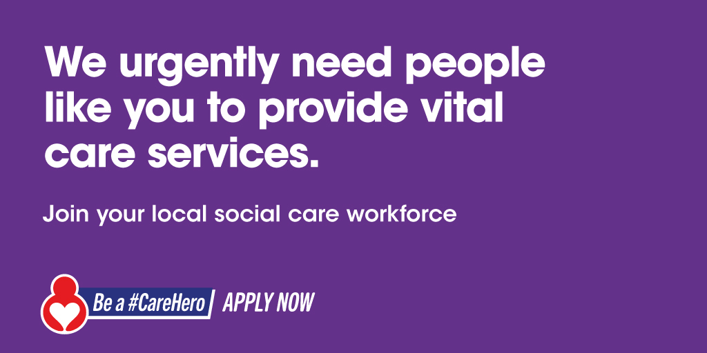 test Twitter Media - There are 100s of vital social care jobs to fill across the north west. People like you are urgently needed to help provide vital care services in your local area.   Apply now and be a #CareHero   More info: https://t.co/iVPOdiUFlW https://t.co/MRWIiWc1Vx