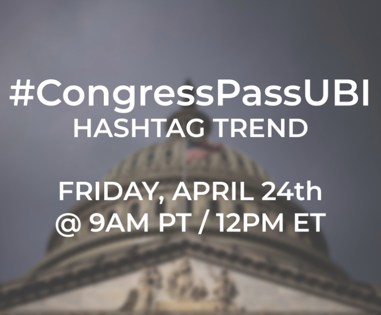 Today Congress is working on CARES 2 and they are NOT including monthly payments to the people. Here is a set of actions you can take to demand they change course and put people first! https://t.co/ds9nVUB3U0 #CongressPassUBI https://t.co/MQZkkXjARN