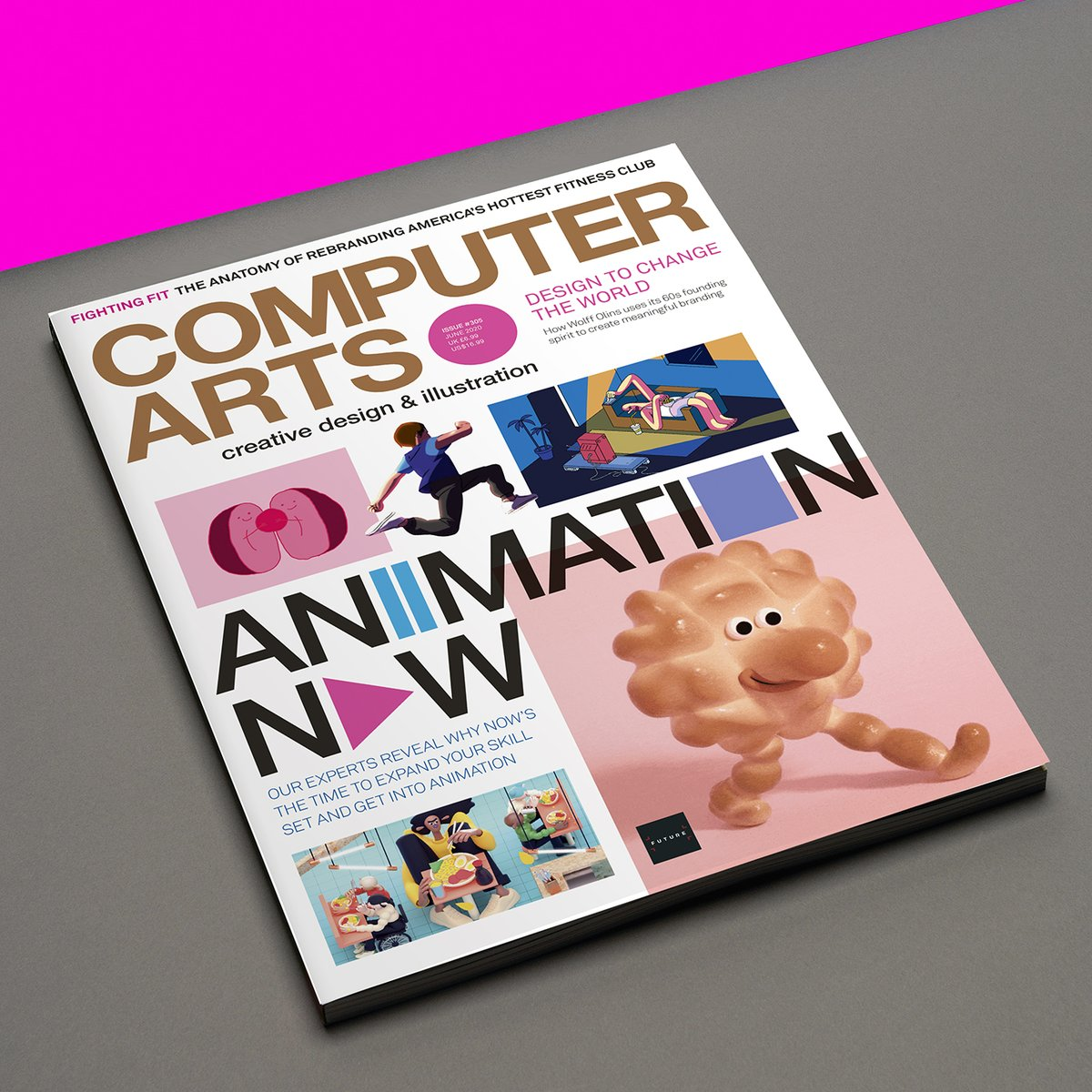 This is very sad, a beautiful magazine is closing down. Each issue was a pleasure to read with colourful inspiring designs of so many talented people. #computerarts @ComputerArts Hope there will be some way in the future to bring this back. Good luck to all the people involved