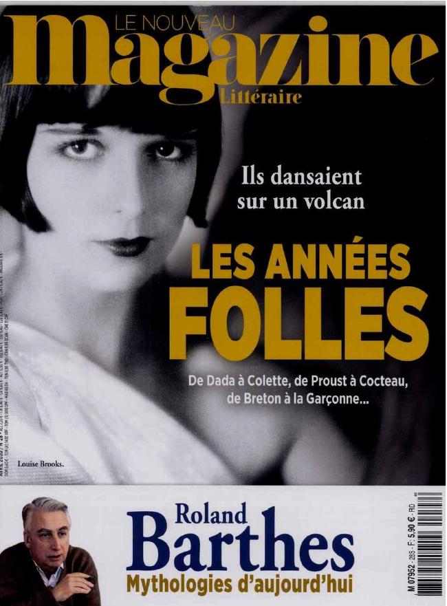 Le Nouveau Magazine littéraire - dossier Les années folles EWXOsiPWoAAedqG