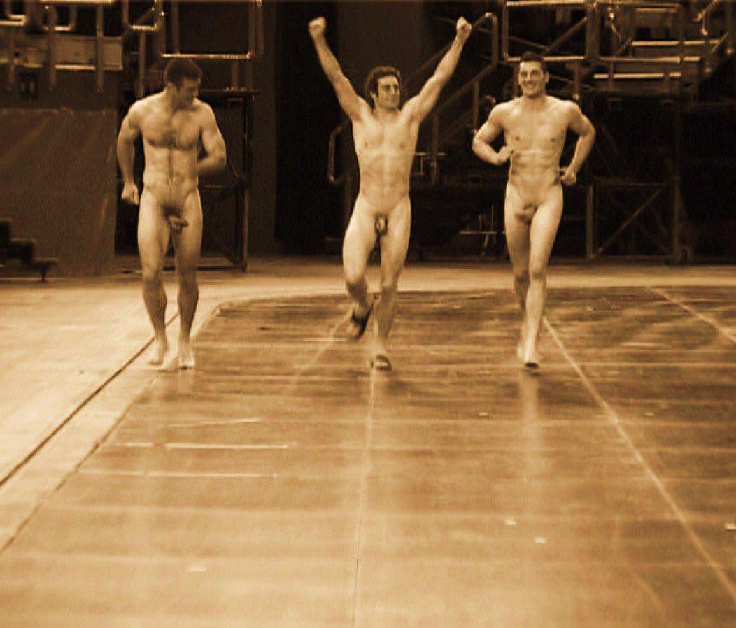 Gym Battle Rope Man Image Photo