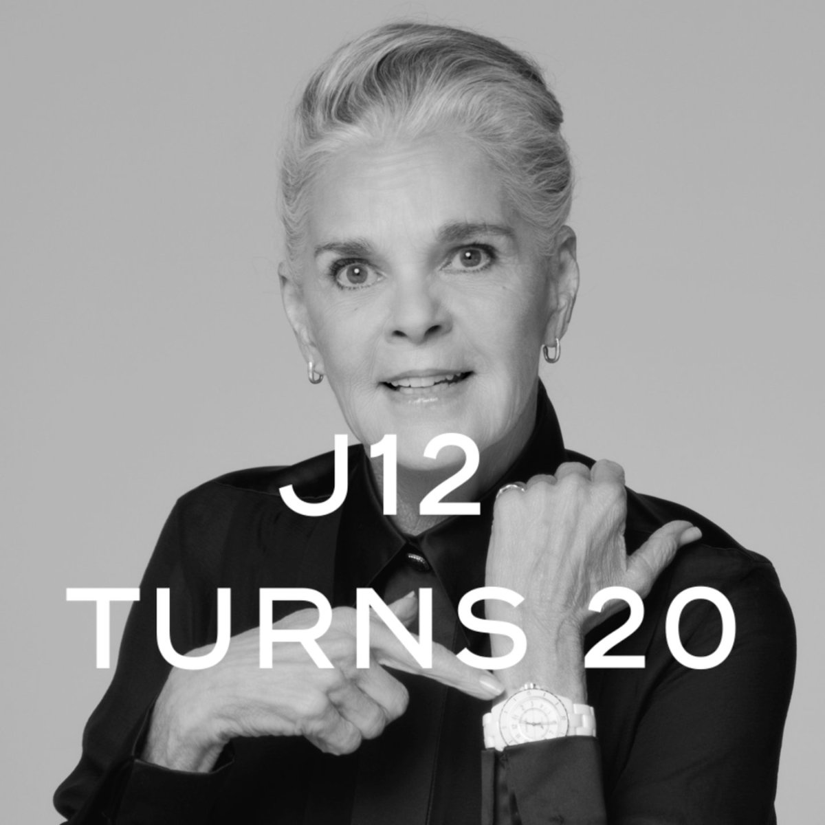 J12 TURNS 20 The J12 muses answer questions in a series of special 20th anniversary interviews. Discover more on https://t.co/oygHeOFVng  #J12Turns20 #CHANELWatches #ItsAllAboutSeconds https://t.co/OWHAYCz1fs
