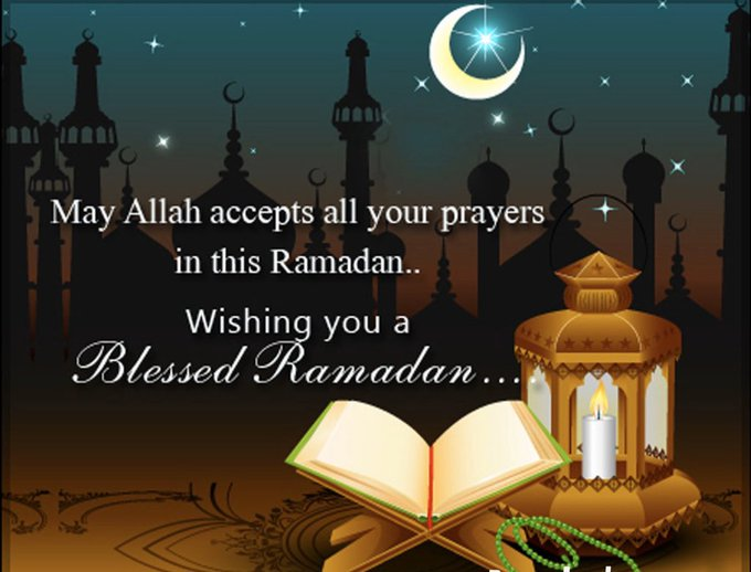Wishing you all a blessed RAMADAN #RamadanMubarak  IMAGES, GIF, ANIMATED GIF, WALLPAPER, STICKER FOR WHATSAPP & FACEBOOK