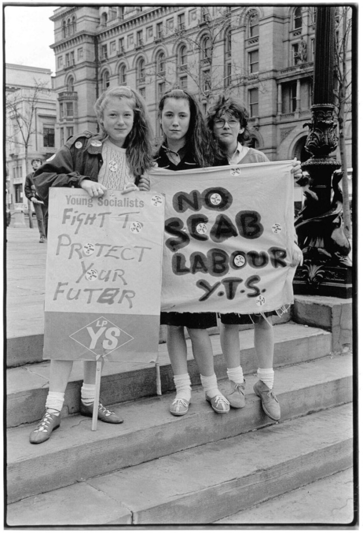 25th April, exactly 35 years since Liverpool School Students Strike against YTS conscription. flic.kr/p/QpDzn