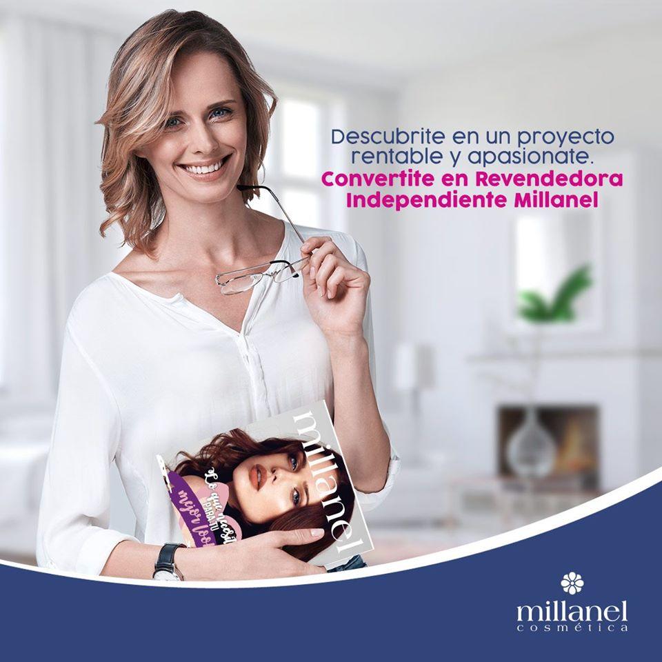 Nunca es tarde para empezar. Y en #Milanel, te damos la oportunidad de comenzar un nuevo proyecto, convirtiéndote en #revendedora independiente Millanel.  Escribinos y enterate cómo podés serlo - 15 5740 6126 pic.twitter.com/lZzhvgjlN6