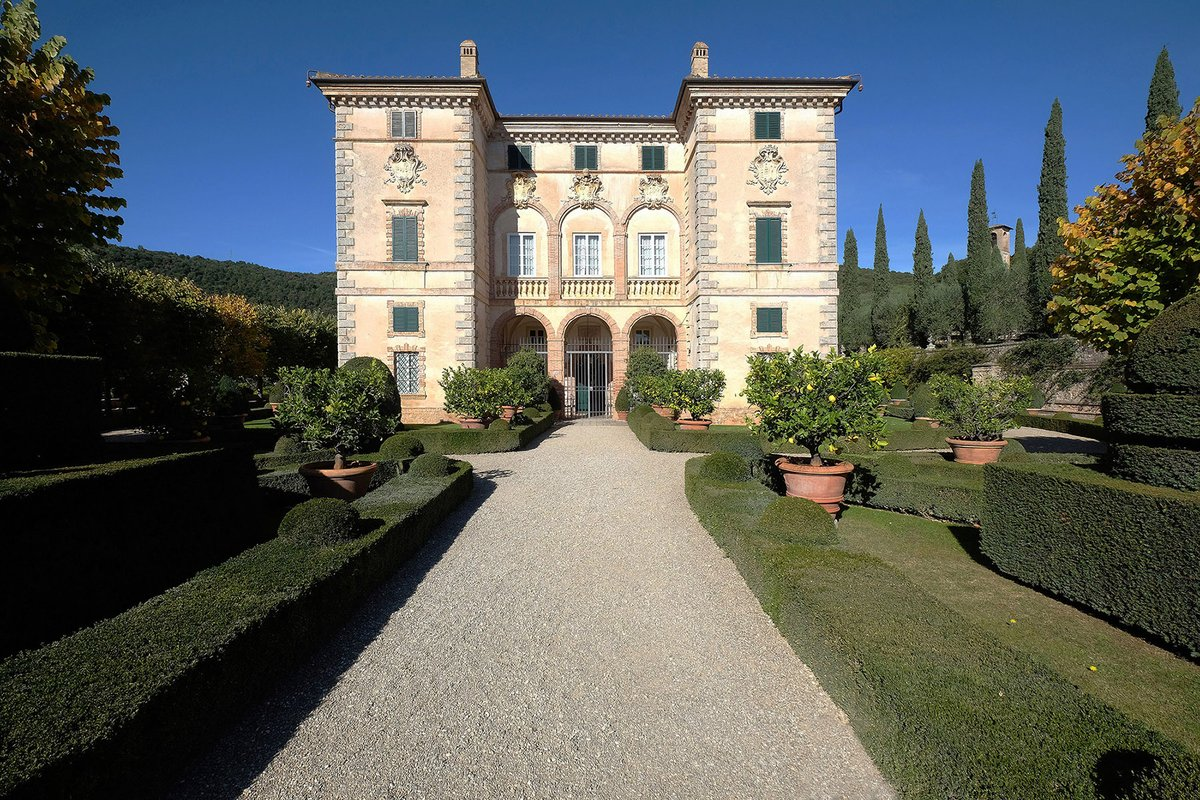 "Villas Near Siena Italy francescolorenzettiphotos on twitter: ""villa cetinale is a"