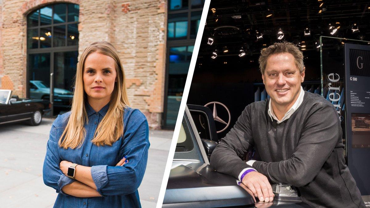 120 years of #Mercedes: a conversation between Bettina Fetzer, Head of Marketing #MercedesBenz AG, and Gorden Wagener, Chief Design Officer #Daimler AG https://t.co/rOD0wnf3dC. https://t.co/W6wEcxWwCu