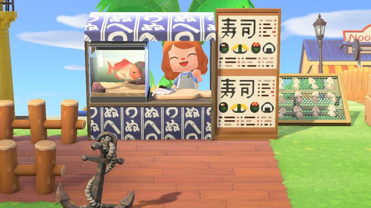 Mony On Twitter Sushi Menu Custom Design For Your Stall Restaurant Is Now Up Acnh Animalcrossingdesigns Animalcrossing Nintendoswitch Https T Co Ki0y7fw2uy
