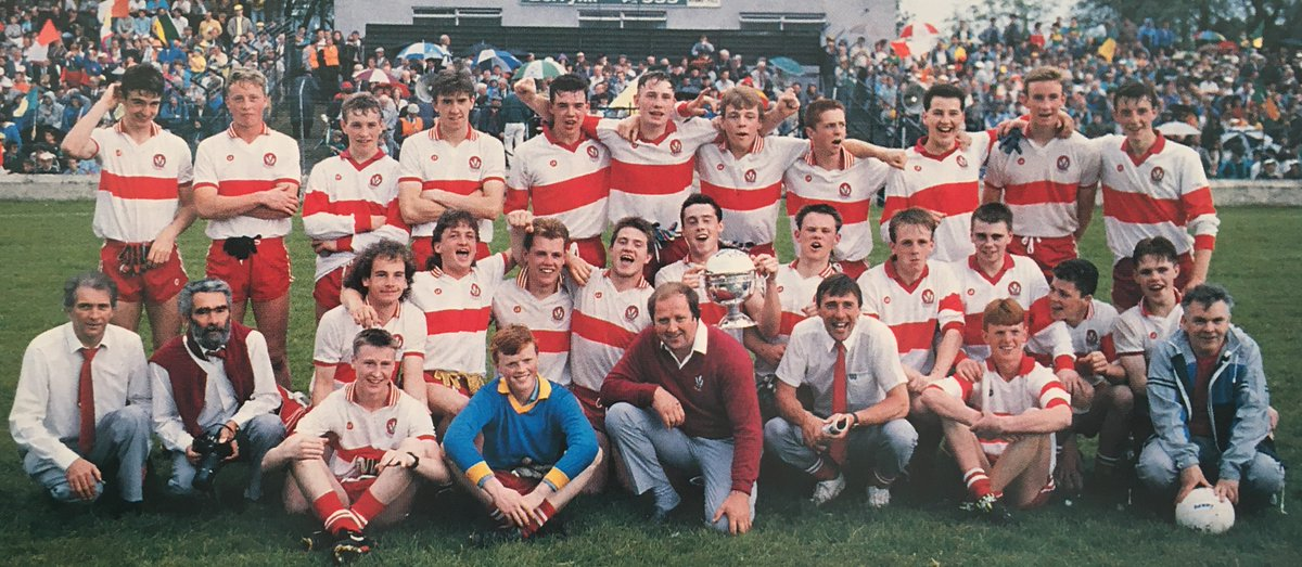 Who do you recognise from our trip #DownMemoryLane?  #GAANostalgia   https://www. derrynow.com/gallery/multim edia/537346/gallery-take-a-look-down-memory-lane.html  … <br>http://pic.twitter.com/GLb4jdcyjG