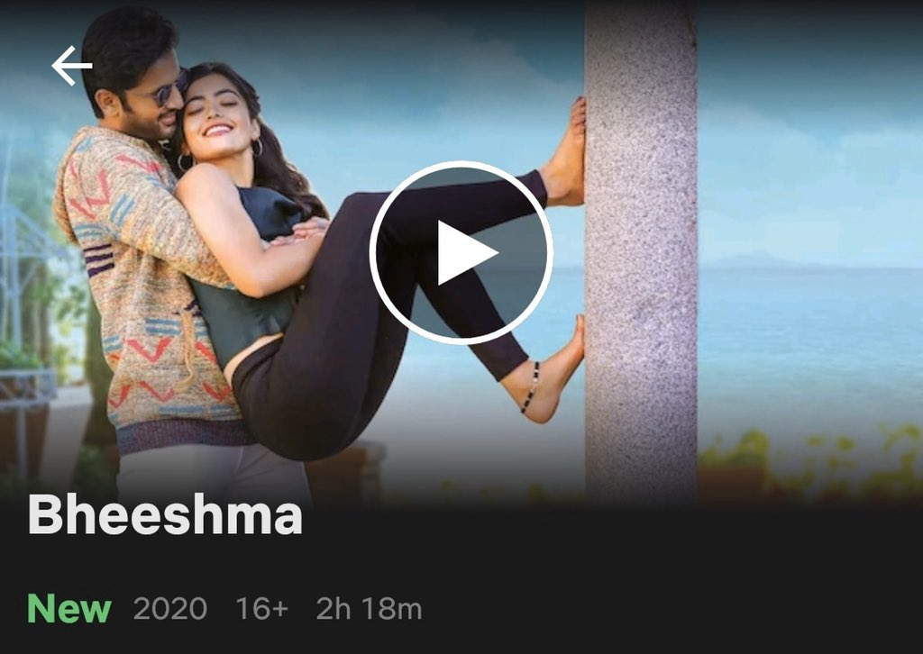 Bheeshma 2020 Full Movie Hd Bheeshmah Twitter