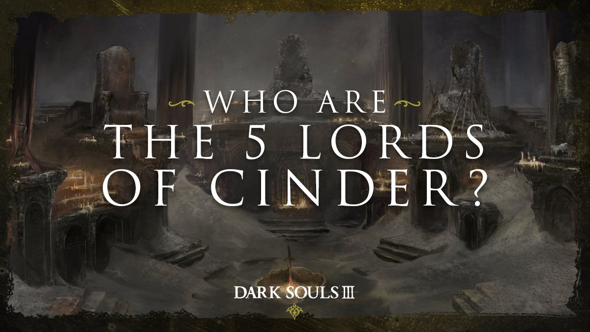 The bell tolled, unearthing them from their graves... but who were they, these Lords of Cinder? List all five for a chance to win a copy of the entire Dark Souls Trilogy for PC, PS4, or Xbox1.   🔥 Comment with your answer + platform 🔥 Ends April 27   #MoreFunForEveryone https://t.co/ZmF2iwAIZZ