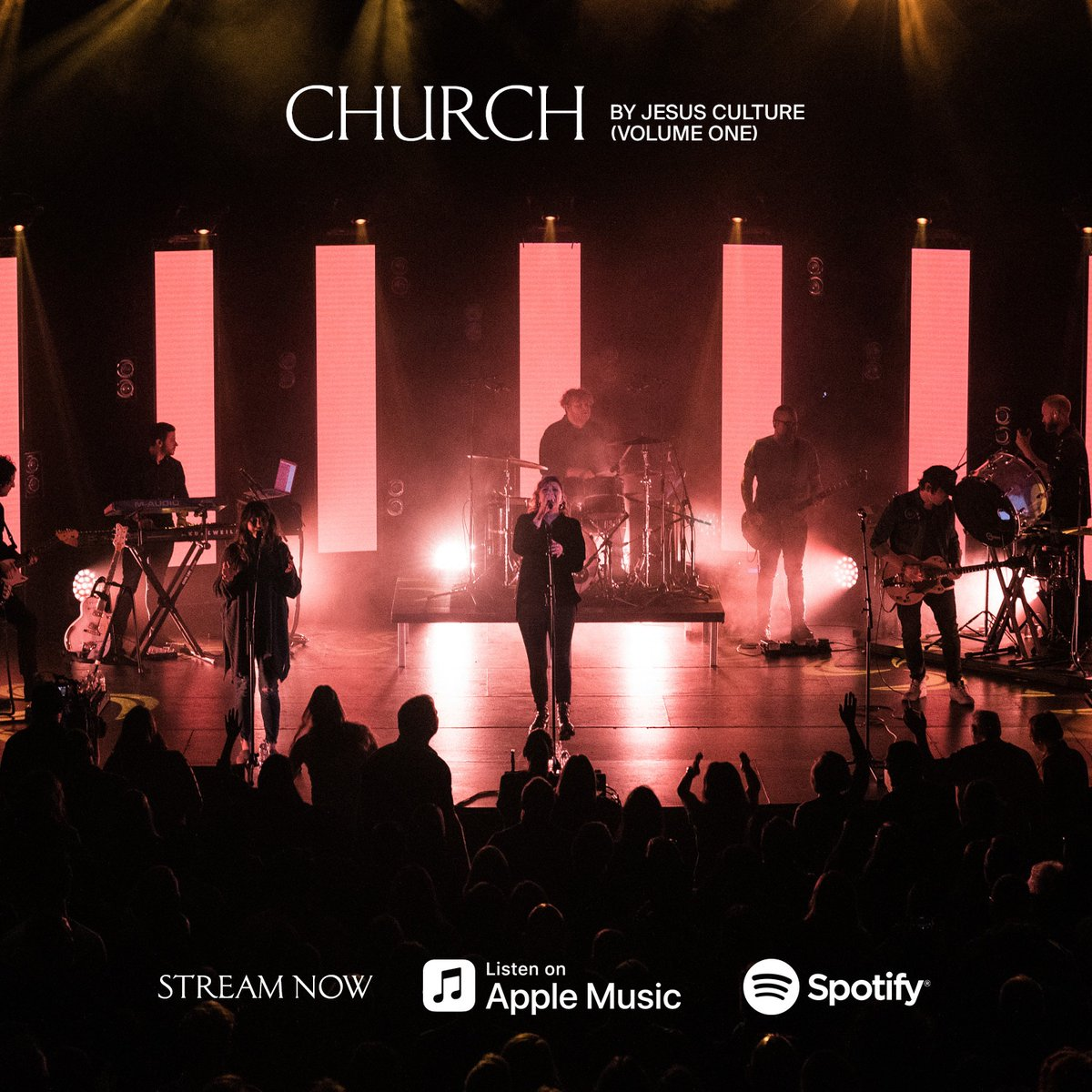 """So excited that our new Jesus Culture album, """"Church - Volume 1,"""" is out! We pray that these songs become the backdrop for many encounters with Jesus and put words to the prayers and cries of hearts. https://t.co/V7PFSF0m0P https://t.co/08VwrgdAWK"""