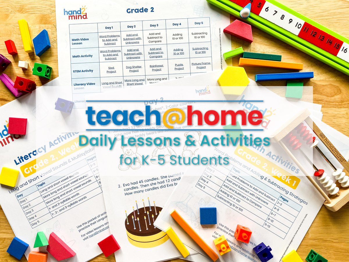 Thanks to @WeAreTeachers for the excellent feature on our teach@home lessons and activities! weareteachers.com/teachhome-less…