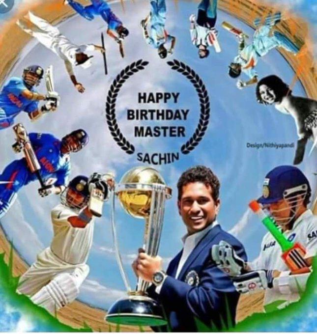 Happy Birthday SR. Sachin Tendulkar