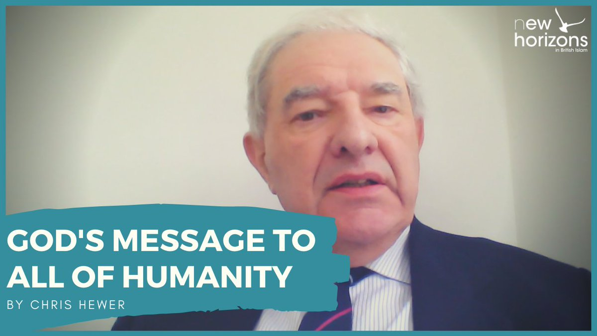 Was the Prophet just for Muslims? 🤔 Is God's guidance just for Muslims? 🤔 Who do religious leaders belong to? 🤔  In today's #Ramadan Bites, Chris Hewer suggests all of humanity can benefit 🌎  https://t.co/vx2qKTDA1u https://t.co/ACU6u2WuwJ