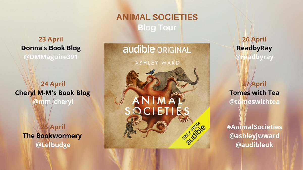 Join me for the #BlogTour Audiobook: Animal Societies by Ashley Ward @ashleyjwward 'Ward makes animal behavioural science both a learning and a captivating listening experience' https://t.co/M8ZIZLAkNY #AnimalSocieties @audibleuk @midaspr #AnimalBehaviour https://t.co/AtNPh6gGaC