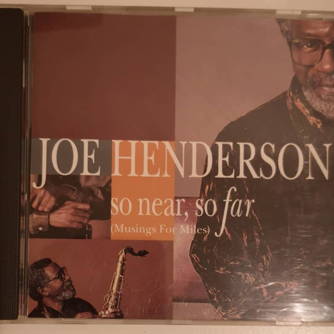 Joe Henderson would have been 83 today. Happy heavenly birthday to the giant.