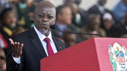 Tanzania's President Dr. John Magufuli states that he hasn't shut the borders and put the country on lockdown because of the effects it would have on the economy. He also urged citizens to attend church services in mass mumbers to pray against Coronavirus because it is satanic. https://t.co/G2RCzrWzhe