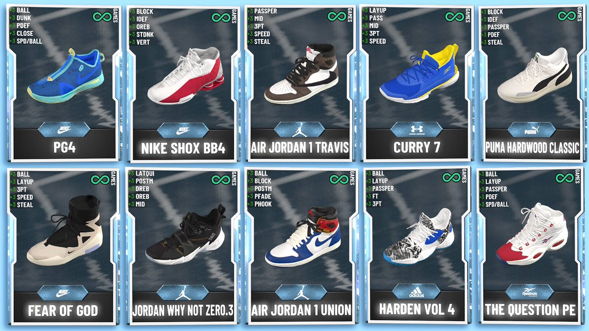 Just put this graphic together and here's a good majority of the new 💎 shoes that dropped today... there's still a ton more but these are some of the best. https://t.co/5gqRKQmN0O