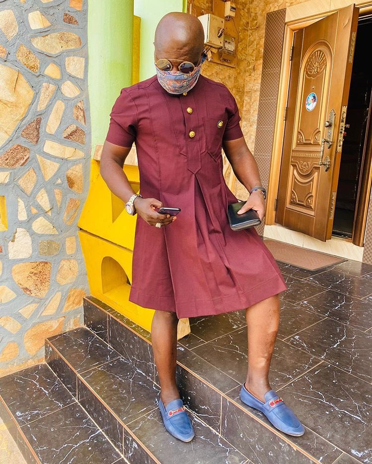 Photos: Nana Aba's Baby Daddy, Osebo Trends For Wearing This ...