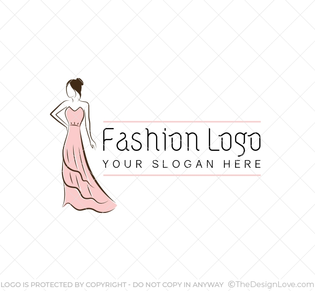The Design Love On Twitter Fashion Logo Business Card Template This Fashion Logo Can Be Used By Upcoming Fashion Designers Clothing Label Online Clothing Stores Logo Branding Logoart Logodesign Designlove Logomaker