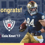 Image for the Tweet beginning: Congrats to @ColeKmet on being